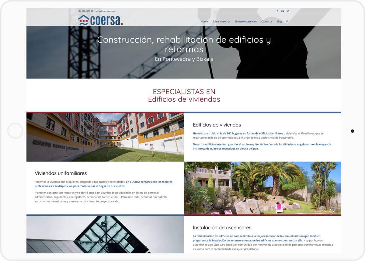 diseno web wordpress