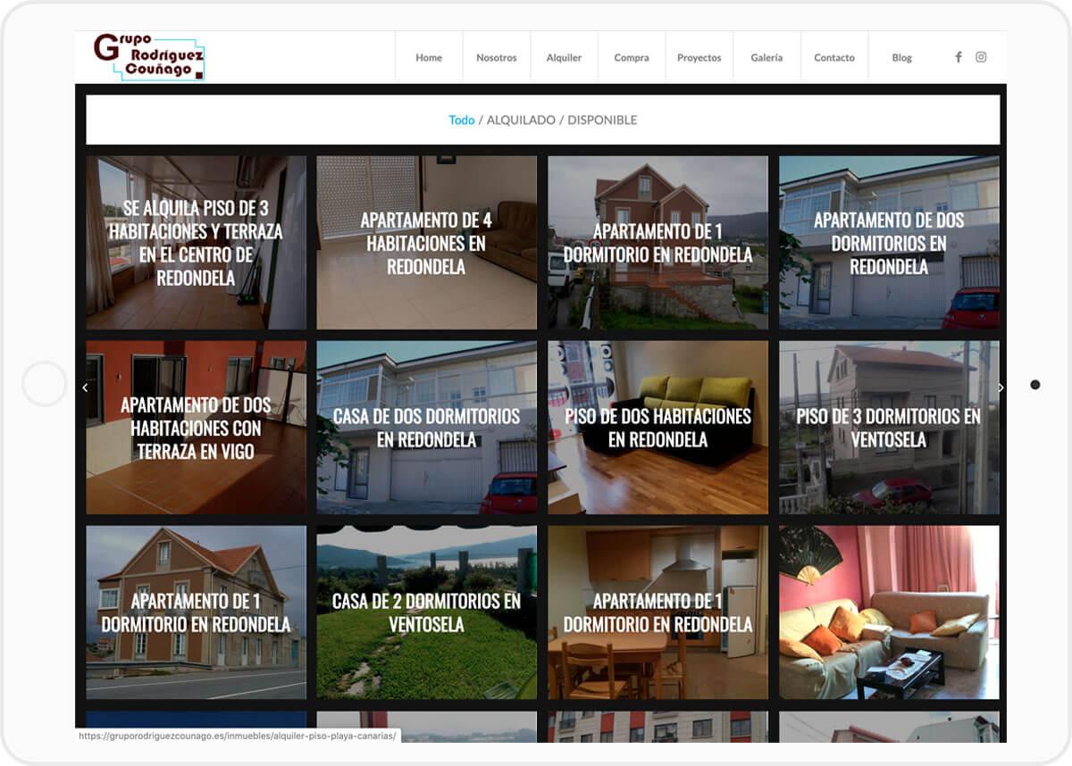 diseno web inmobiliaria